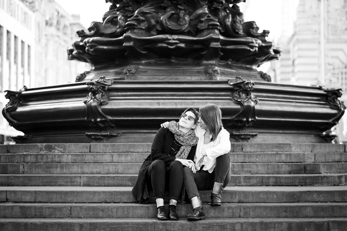 london gay engagement photos piccadilly