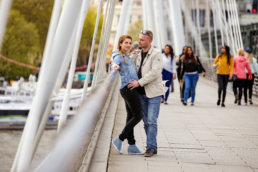 waterloo bridge engagement photographer