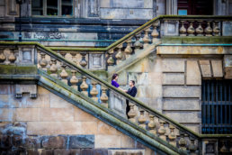 couple in berlin engaged by london wedding photographer
