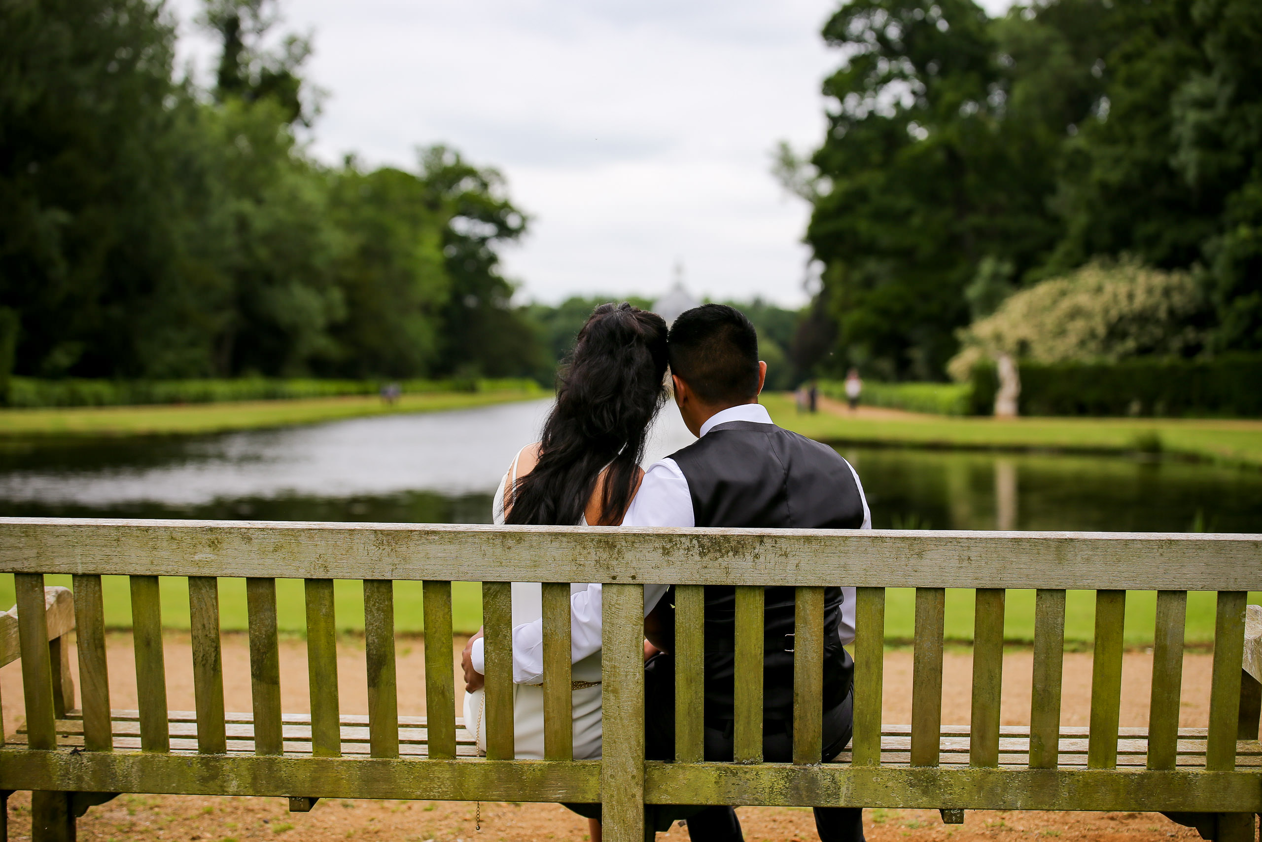 wrest park engagement photographer