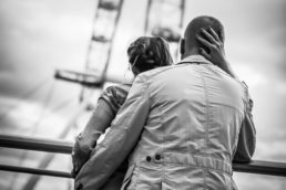 london eye engagement photography