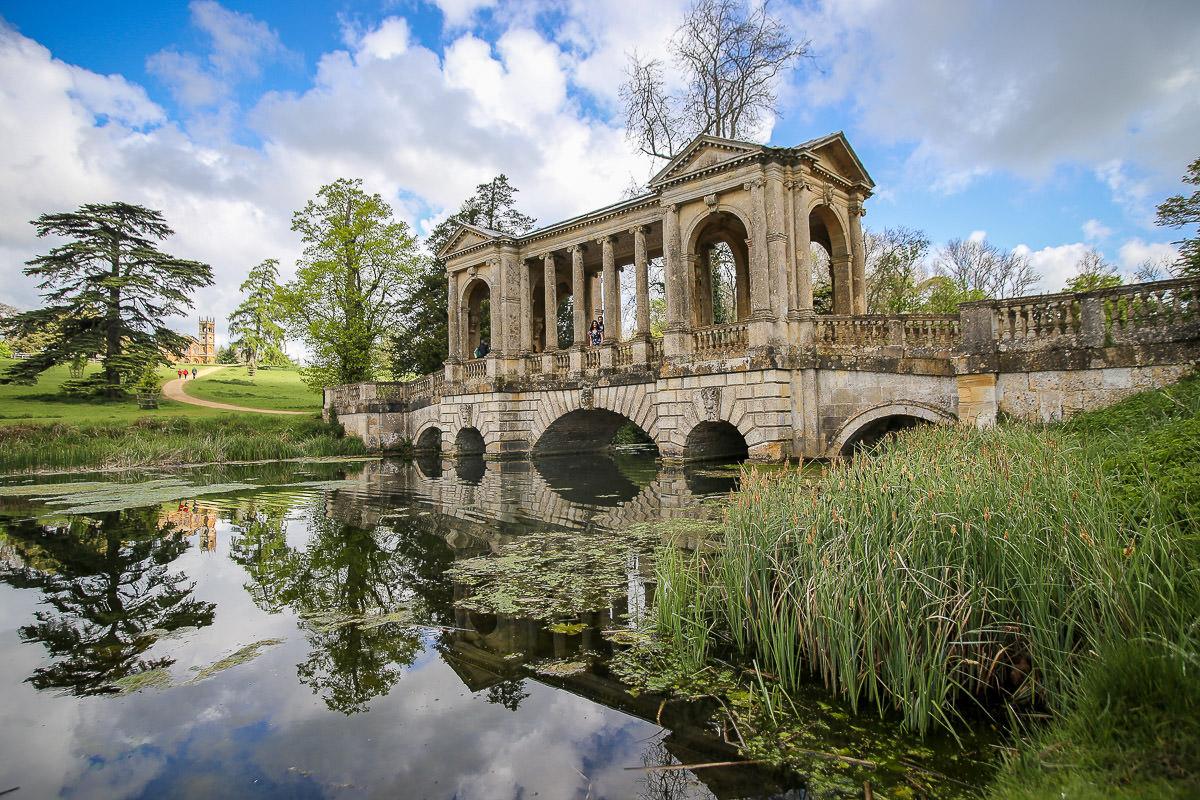 Stowe Park pond