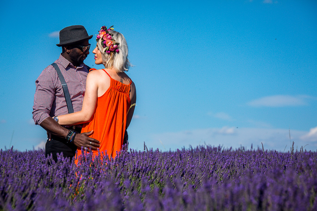 great fun at surrey lavender field