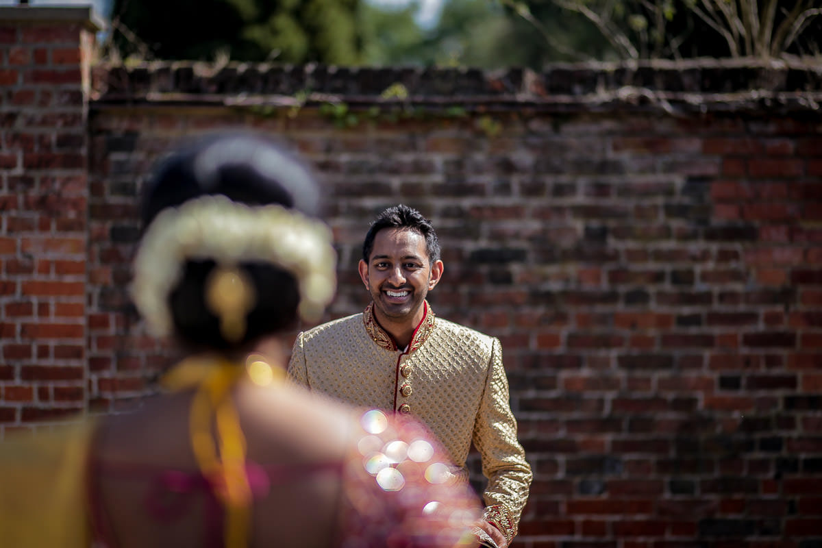 addington palace wedding couple shoot