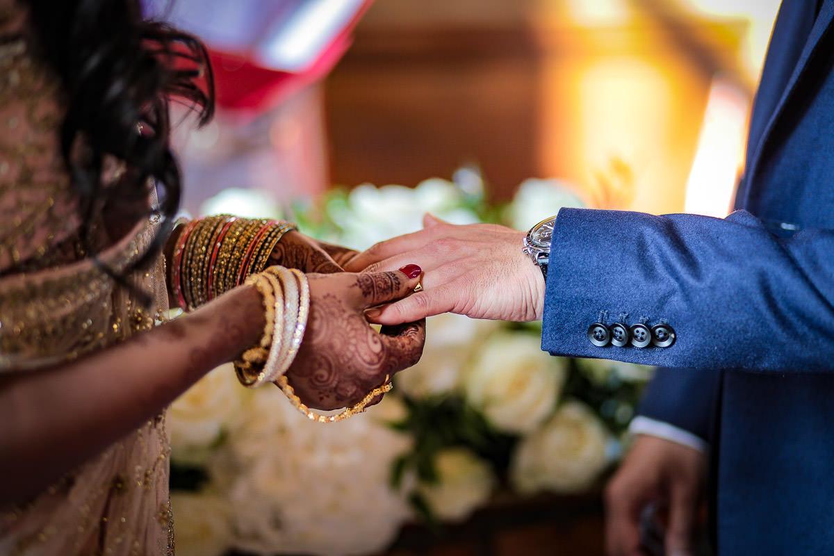 wedding ceremony addington palace