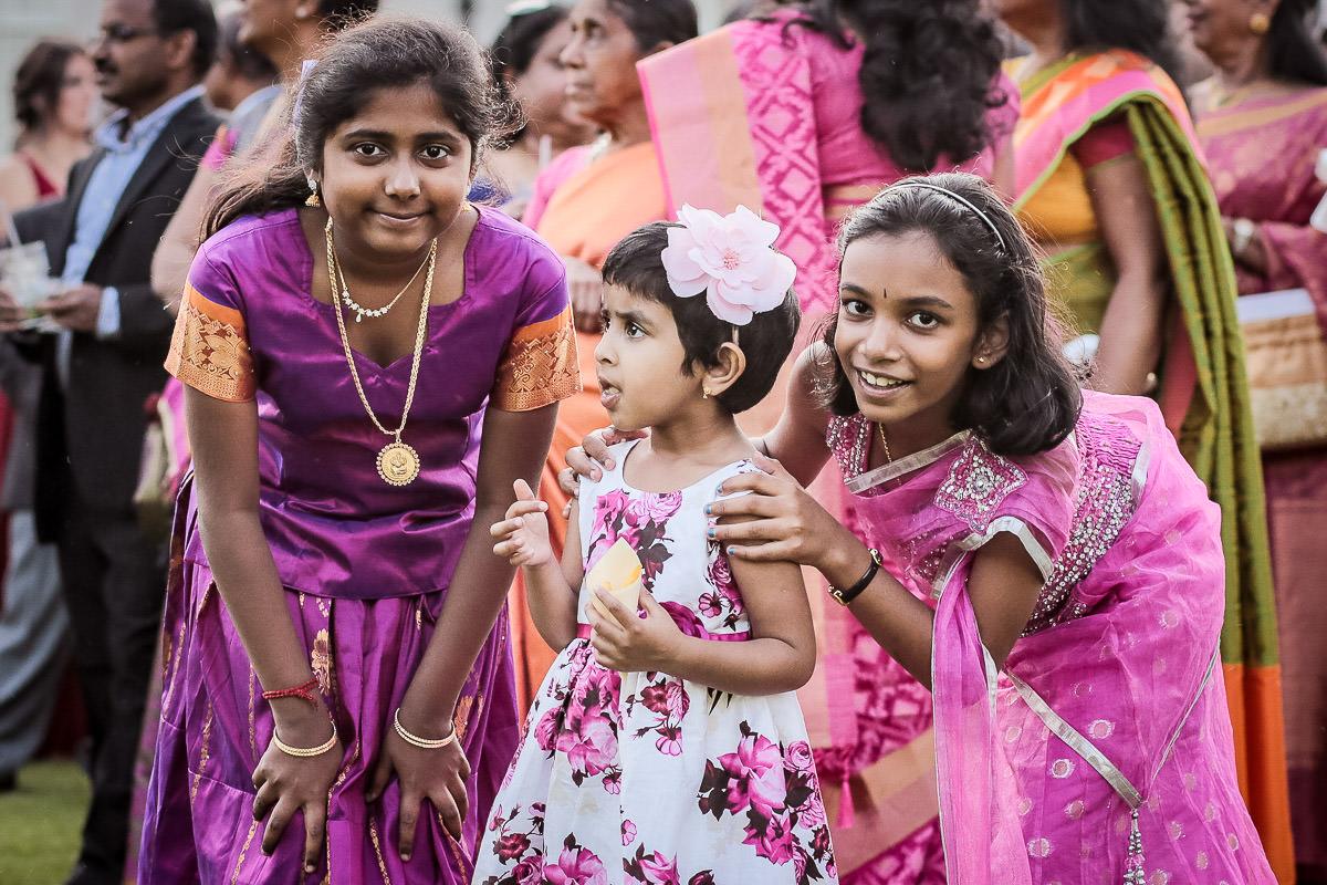 kids at asian wedding addington palace