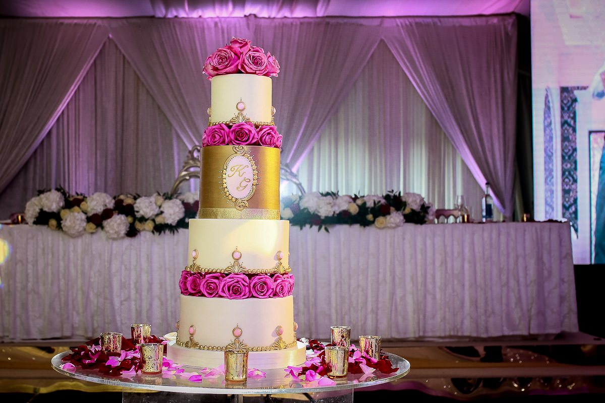 wedding cake surrey