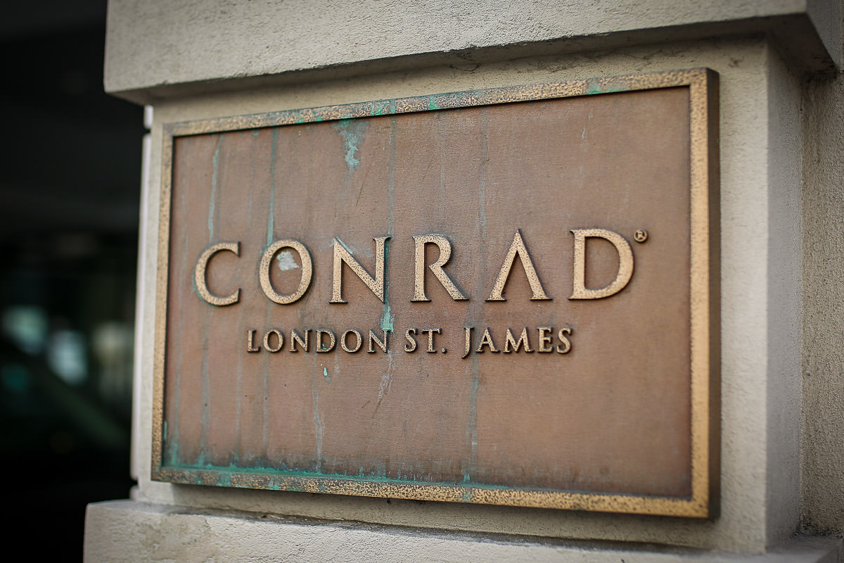 conrad london wedding photographer