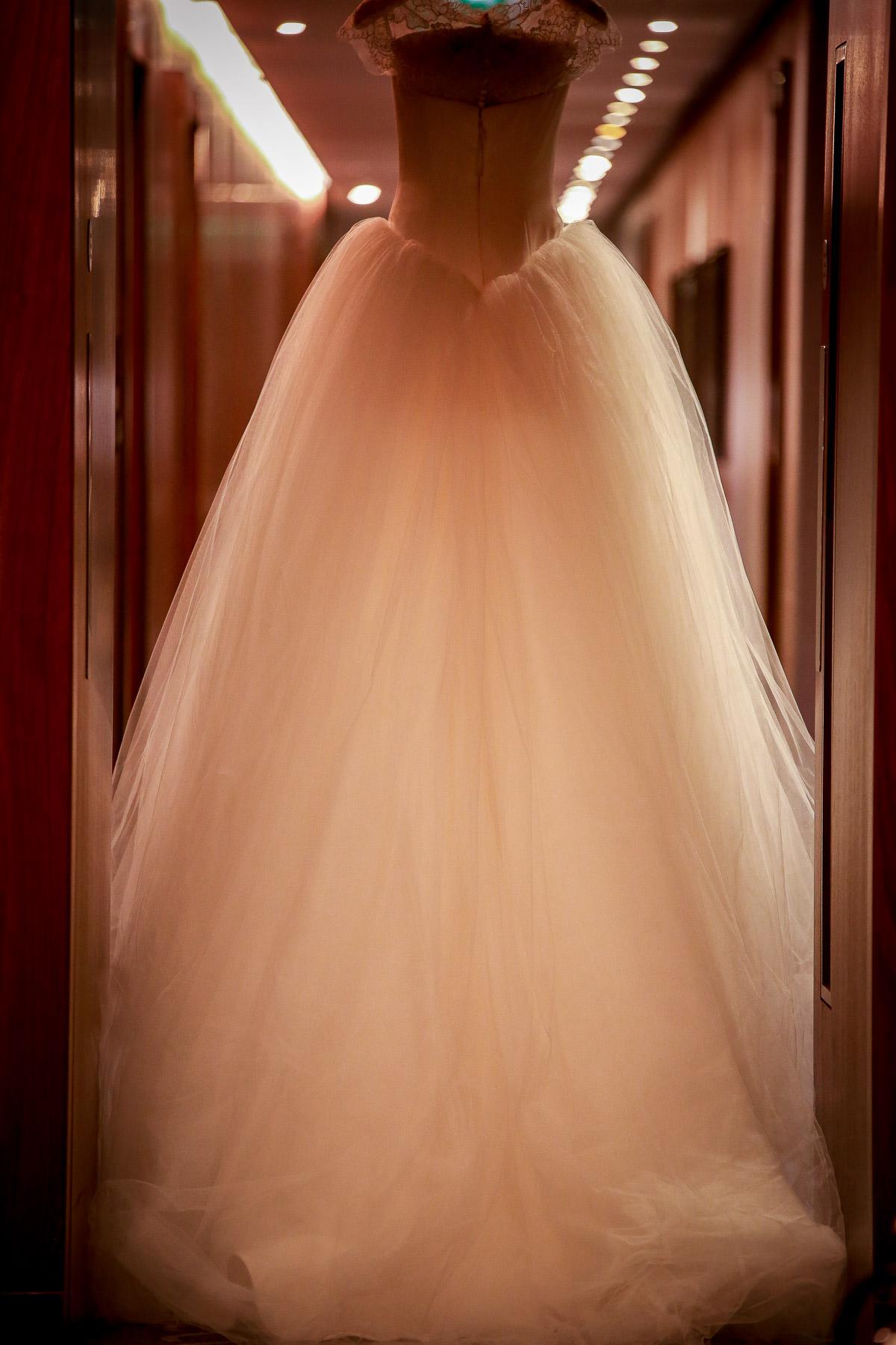 conrad hotel london vera wang dress