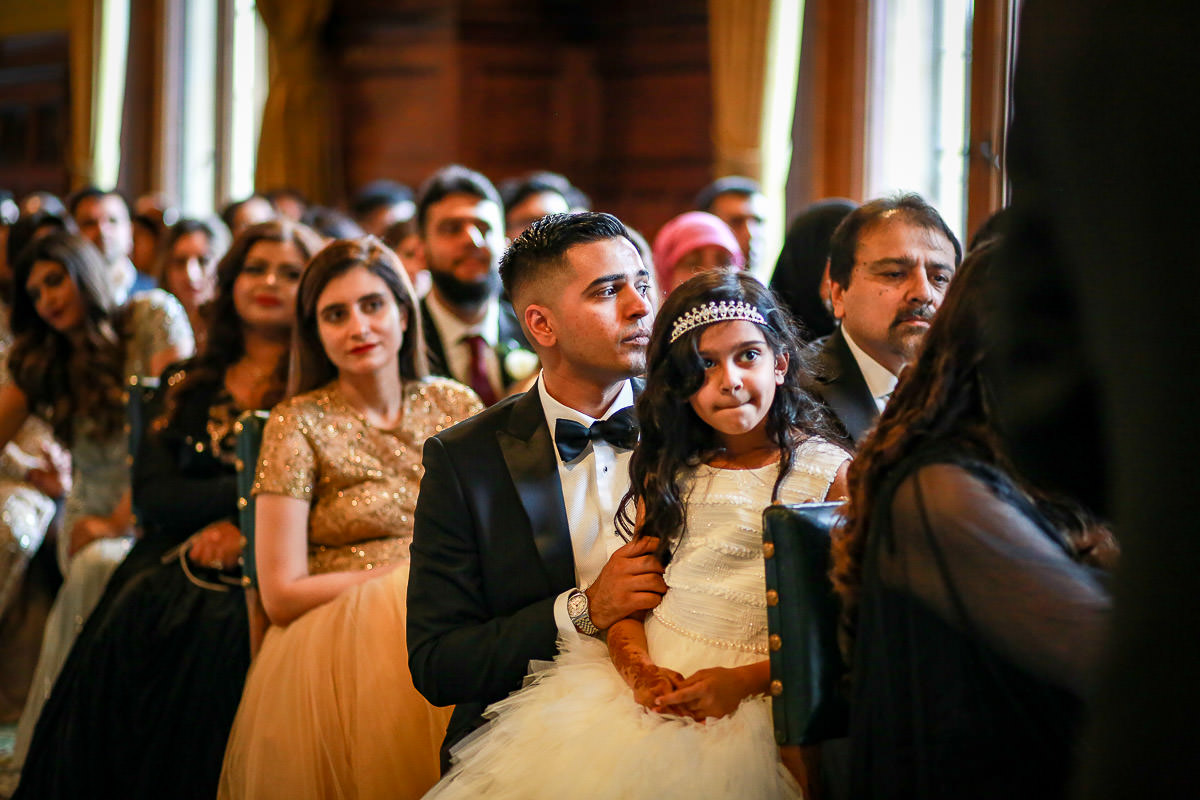 Hajira & Zishan's wedding at House of Commons 8