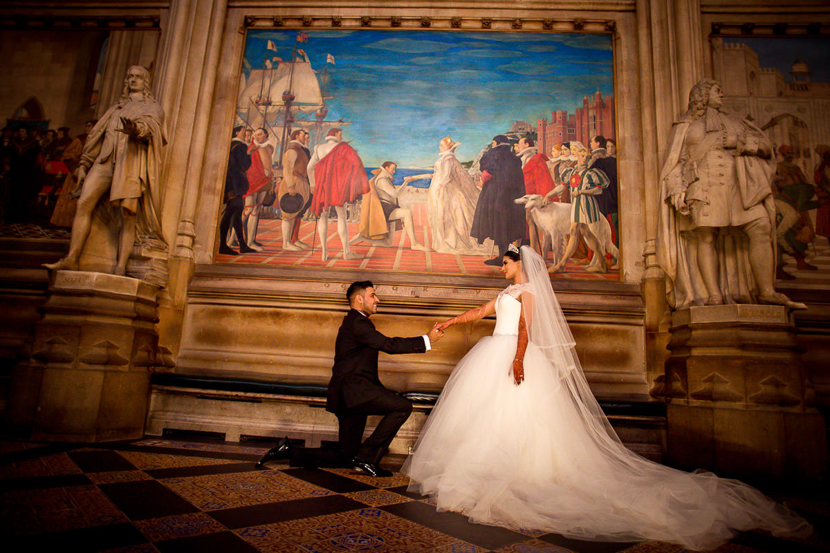 proposal at house of parliament london