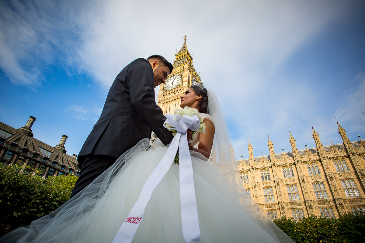 big ben wedding photographer