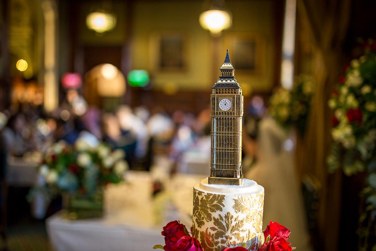 big ben wedding cake london