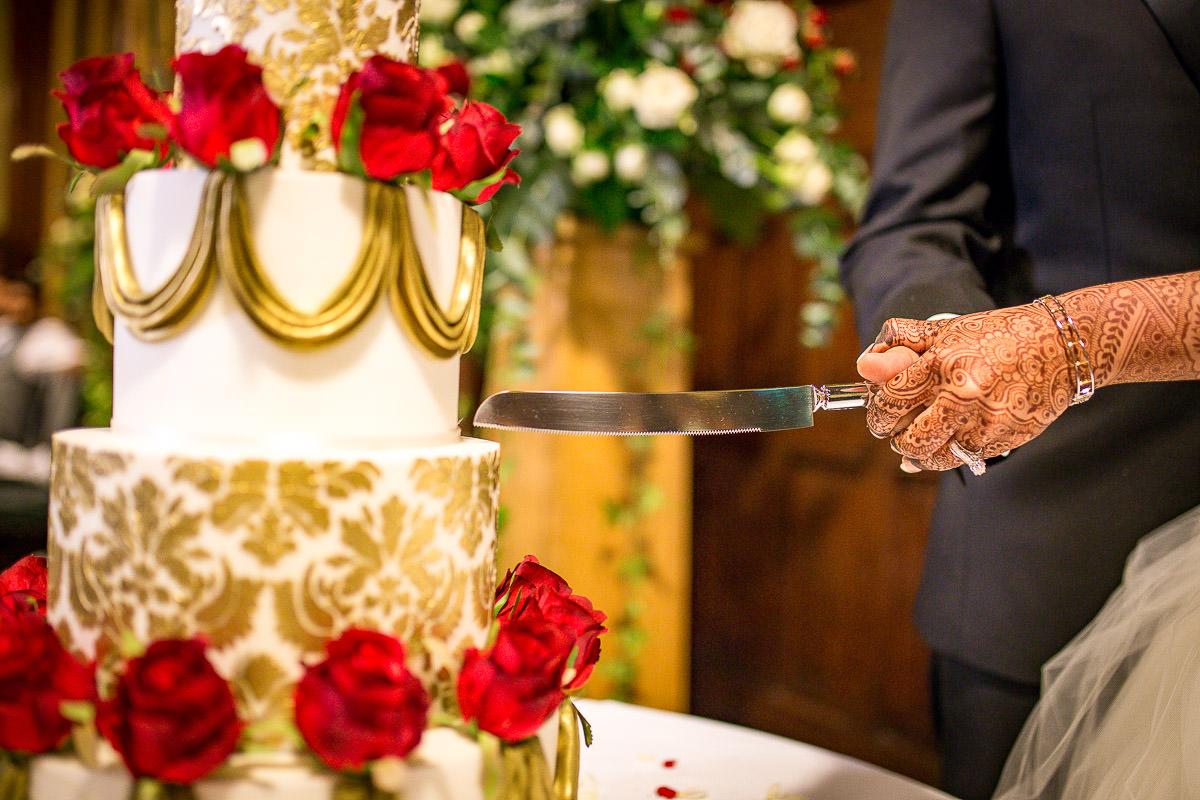 cake cut muslim wedding london house of parliament