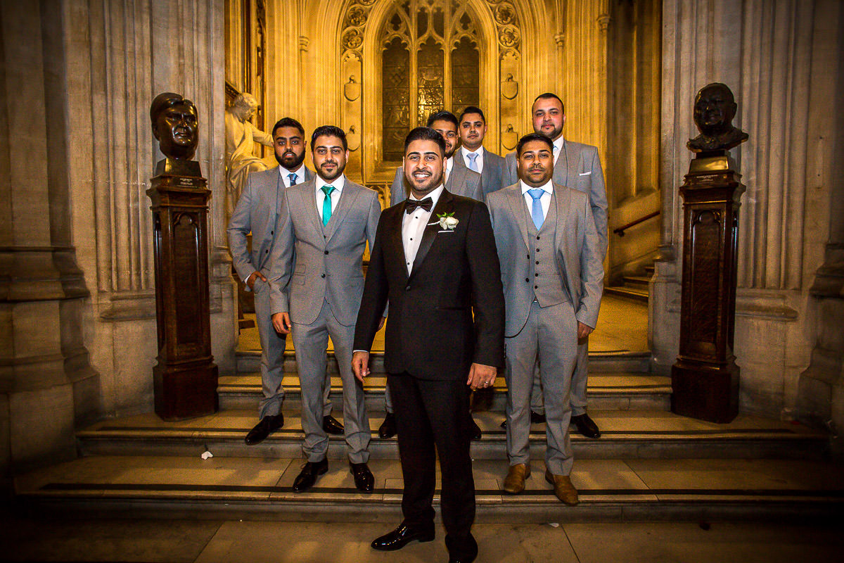 groom at house of commons