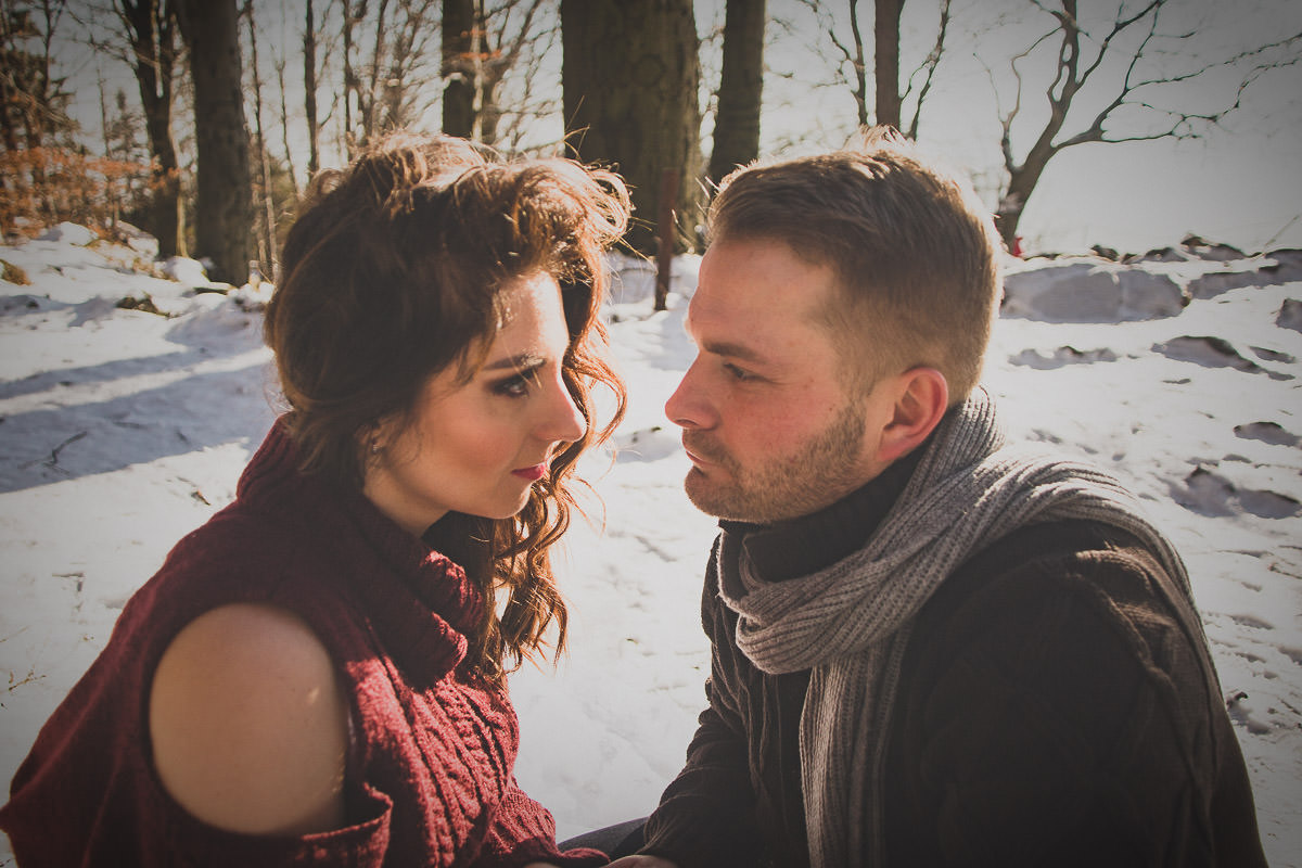 winter elopement wedding london