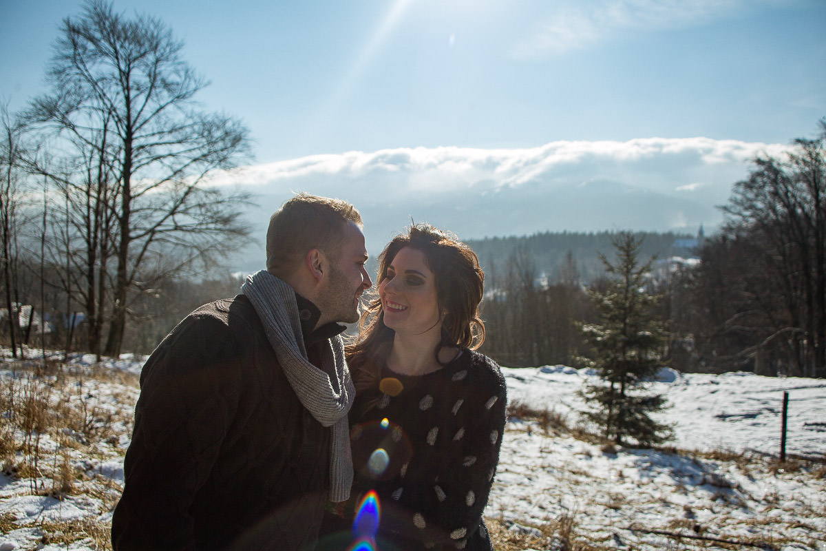 elopement in polish mountains