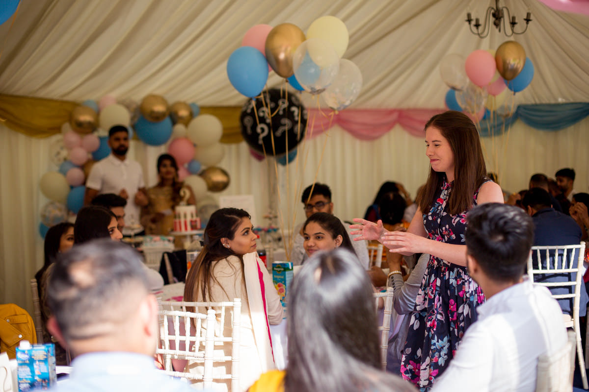 asian baby shower london