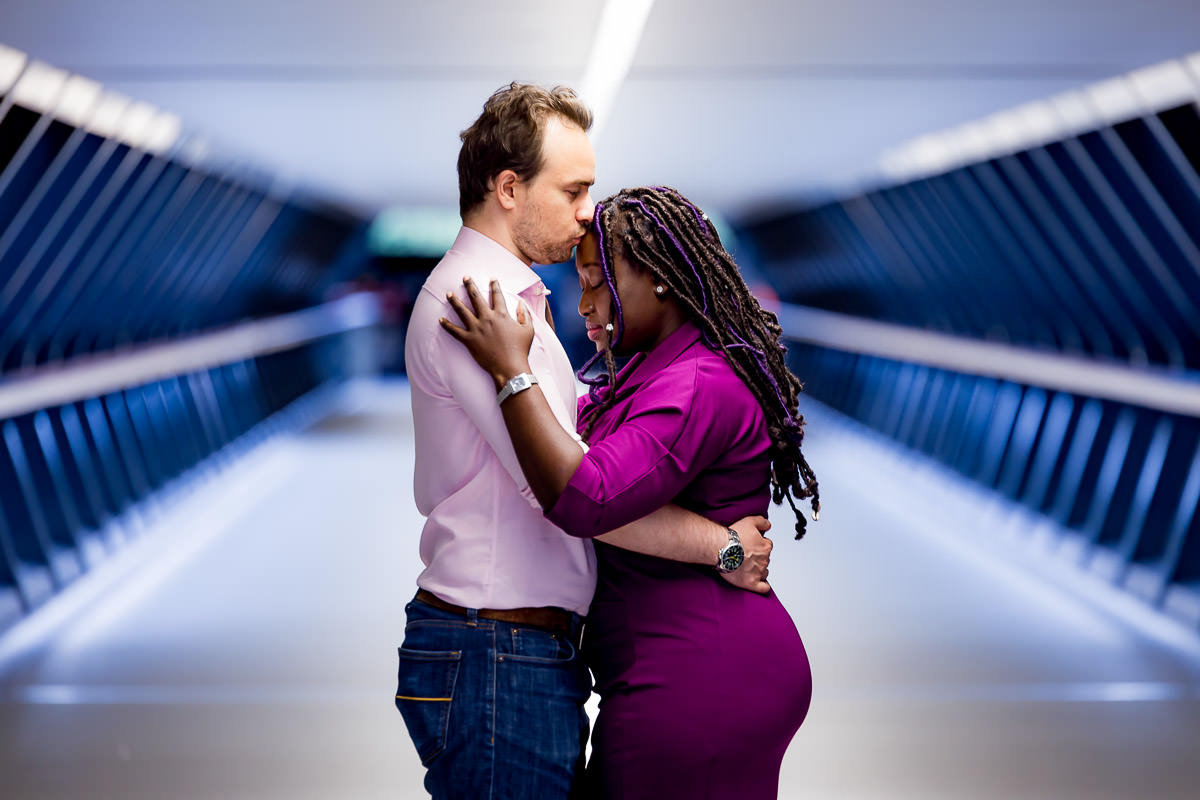 docklands engagement photographer
