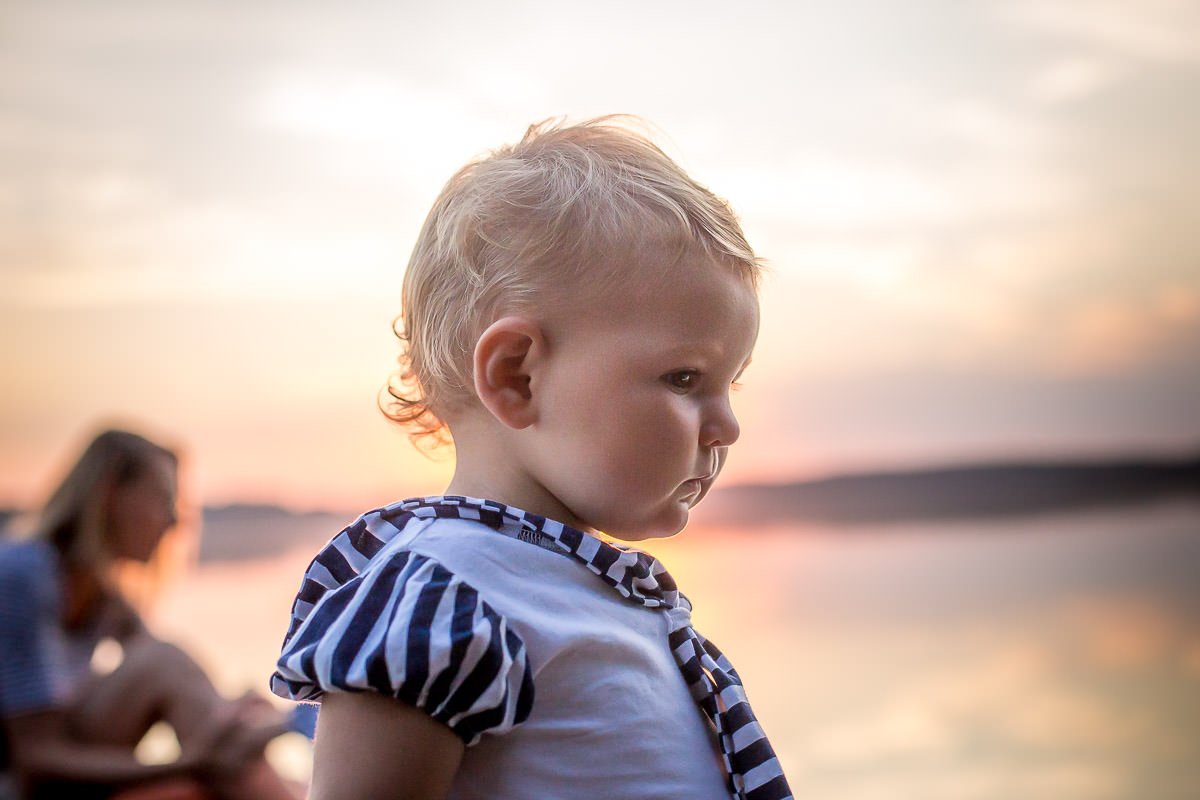 Golden hour family photography 1