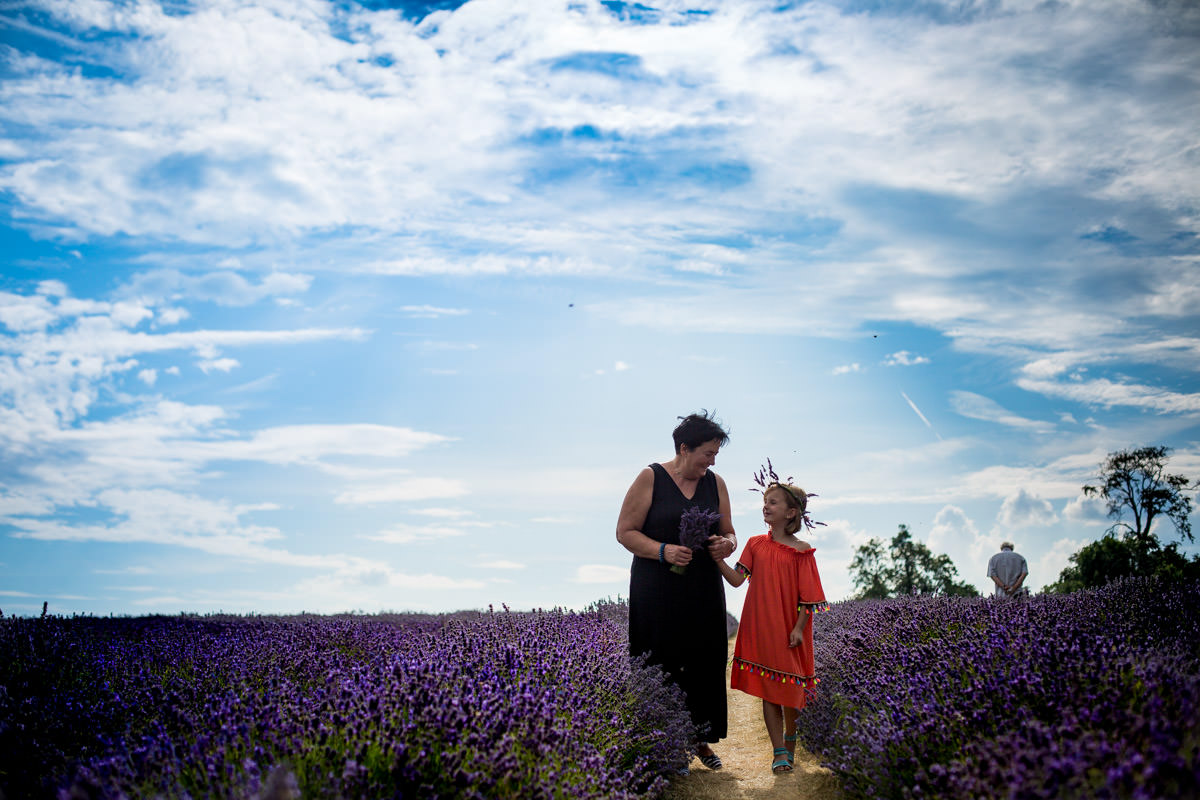 Mayfield Lavender family photography