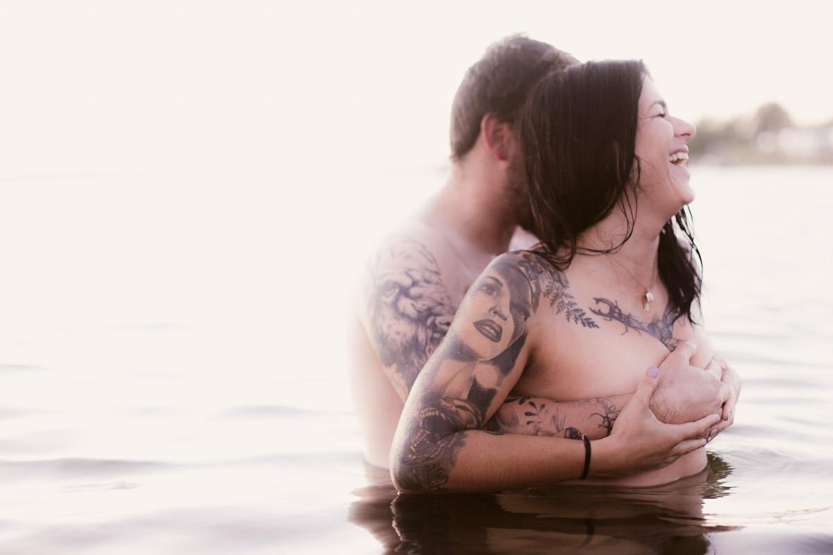 intimate couple shoot