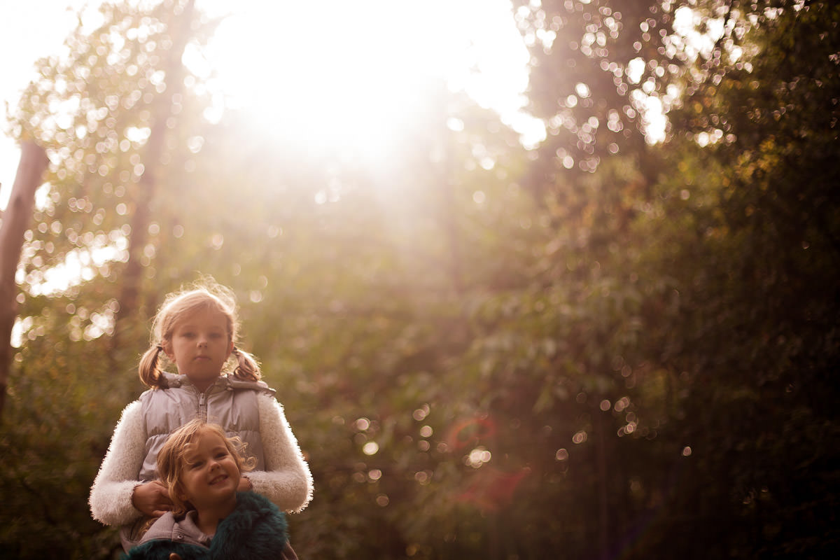 Autumn family photo shoots in London