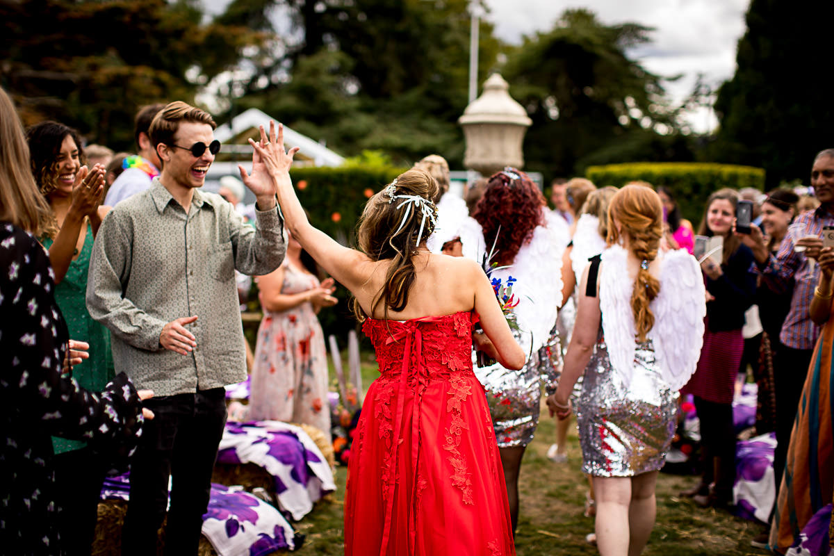 festival wedding london