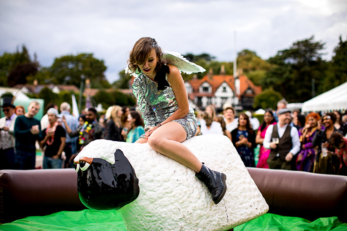 rodeo sheep hire london