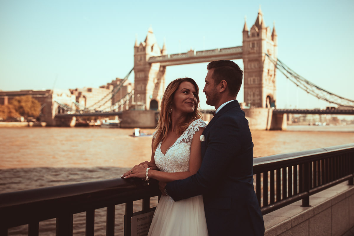 tower bridge wedding shoot london