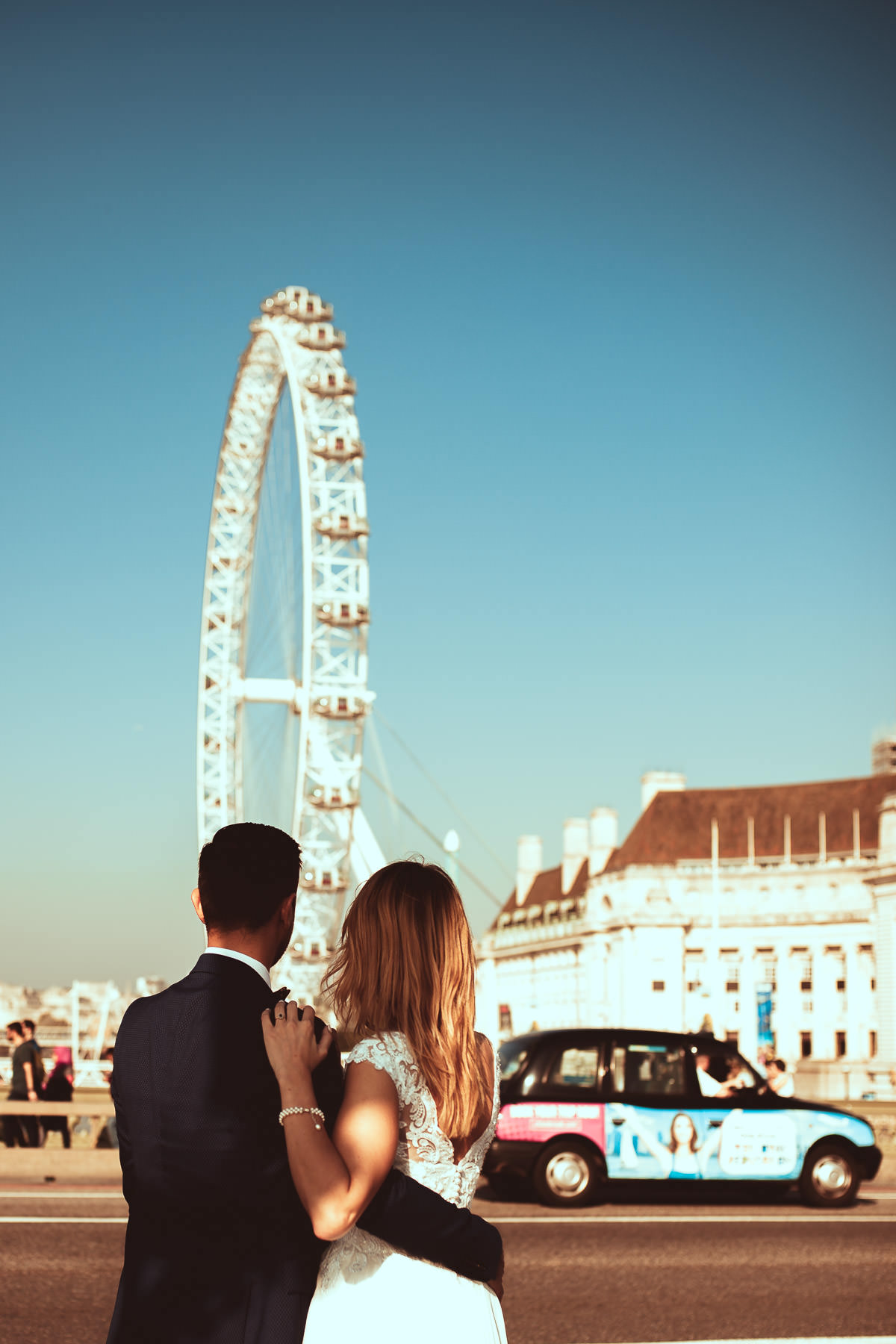 london eye wedding photographer
