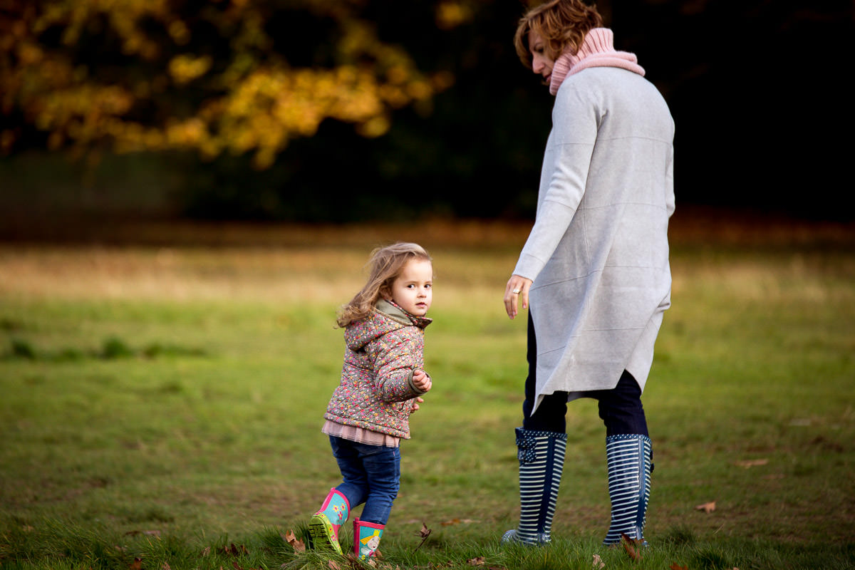 The colours of autumn London Family Photography 6