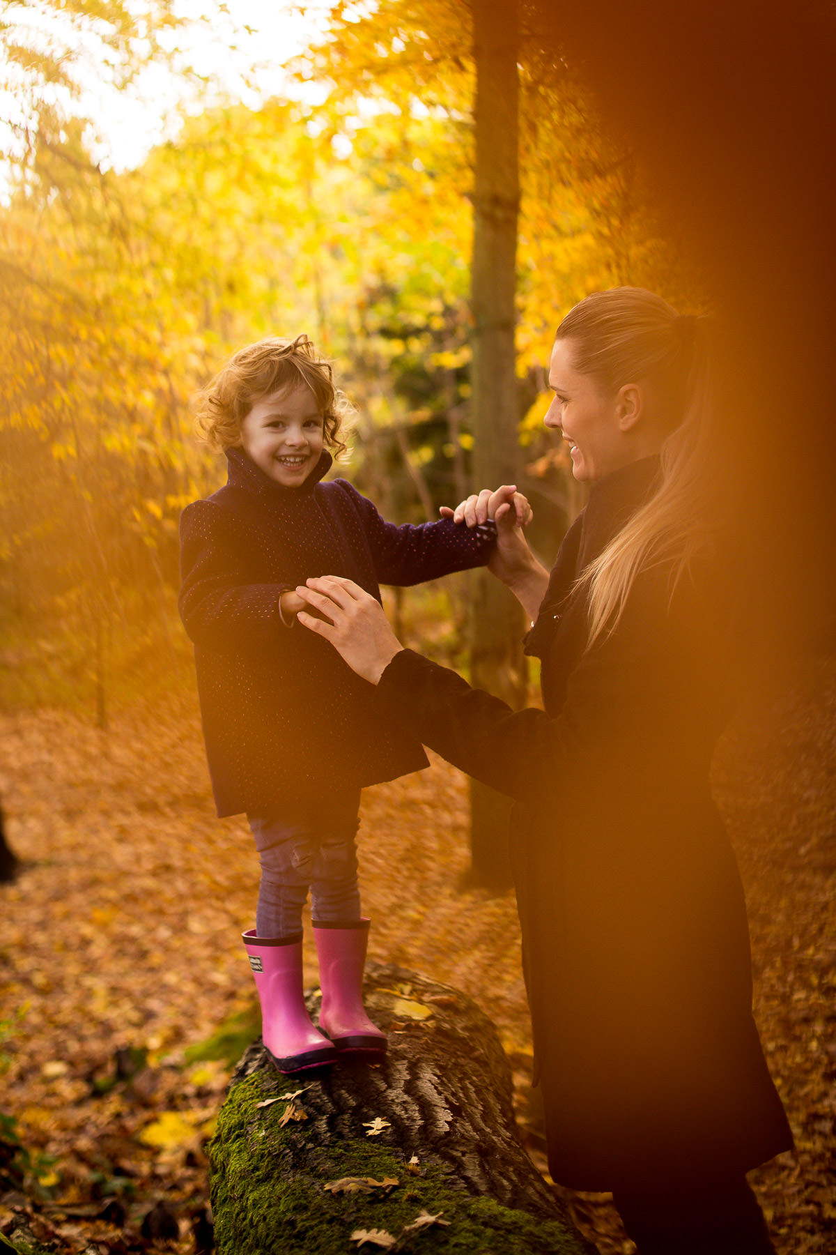 autumn London Family Photography