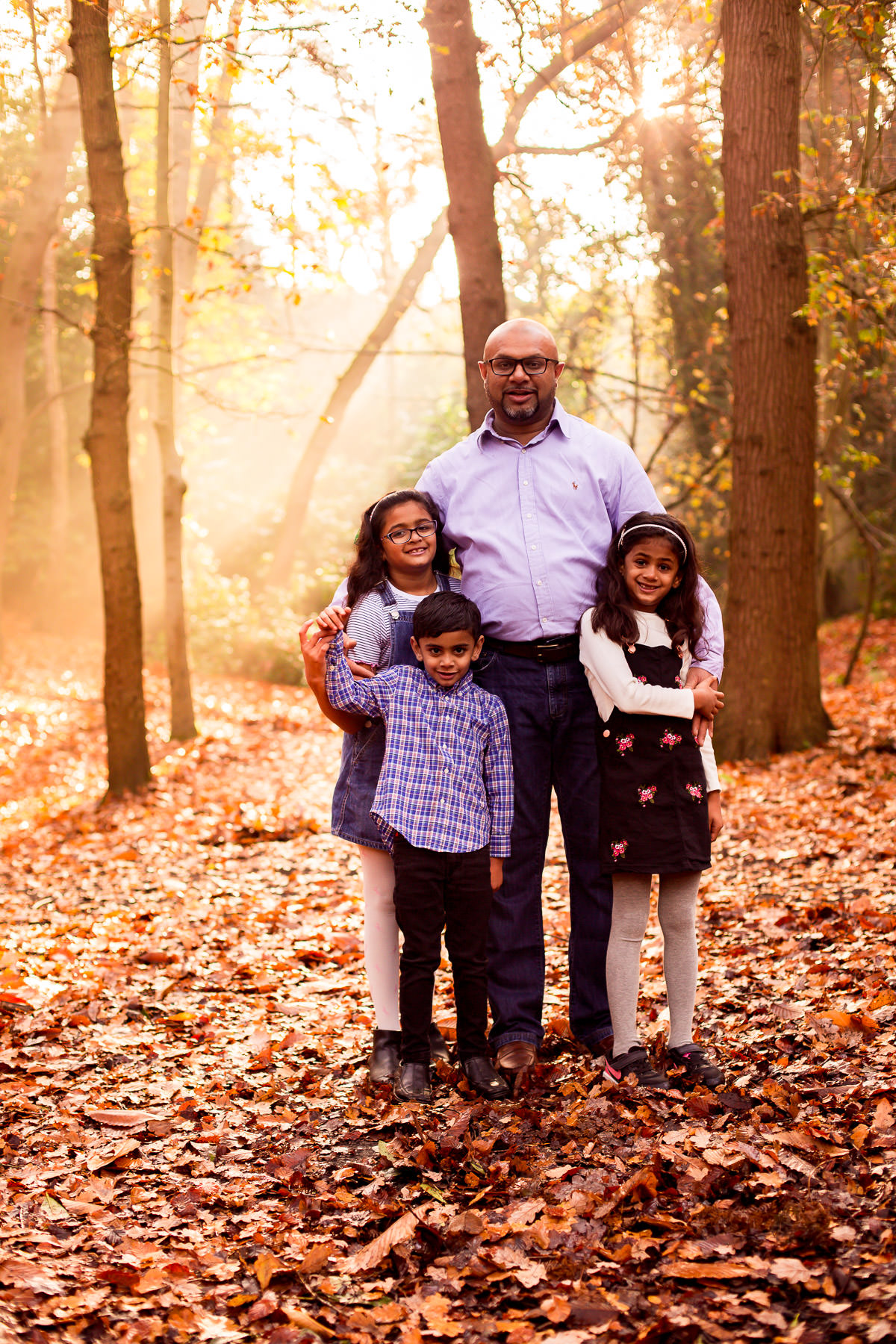 The colours of autumn London Family Photography 16