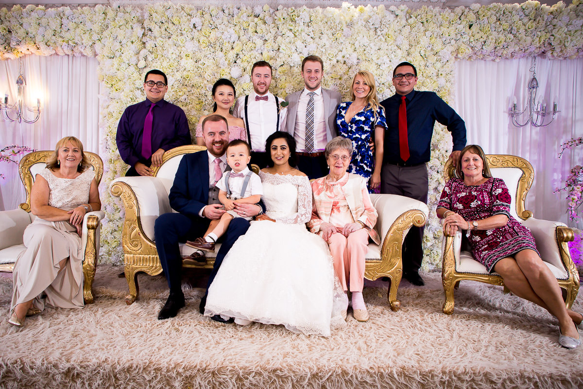 group family photo at ariana gardens