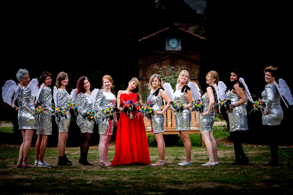 Family & Bridal Party group photos at weddings 1