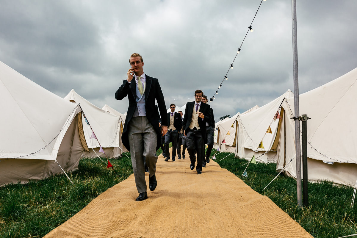 Surrey marquee garden wedding 2