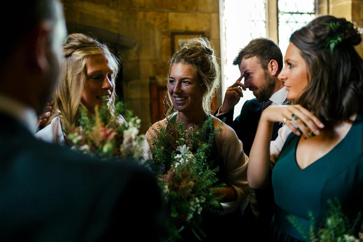 Surrey marquee garden wedding 5