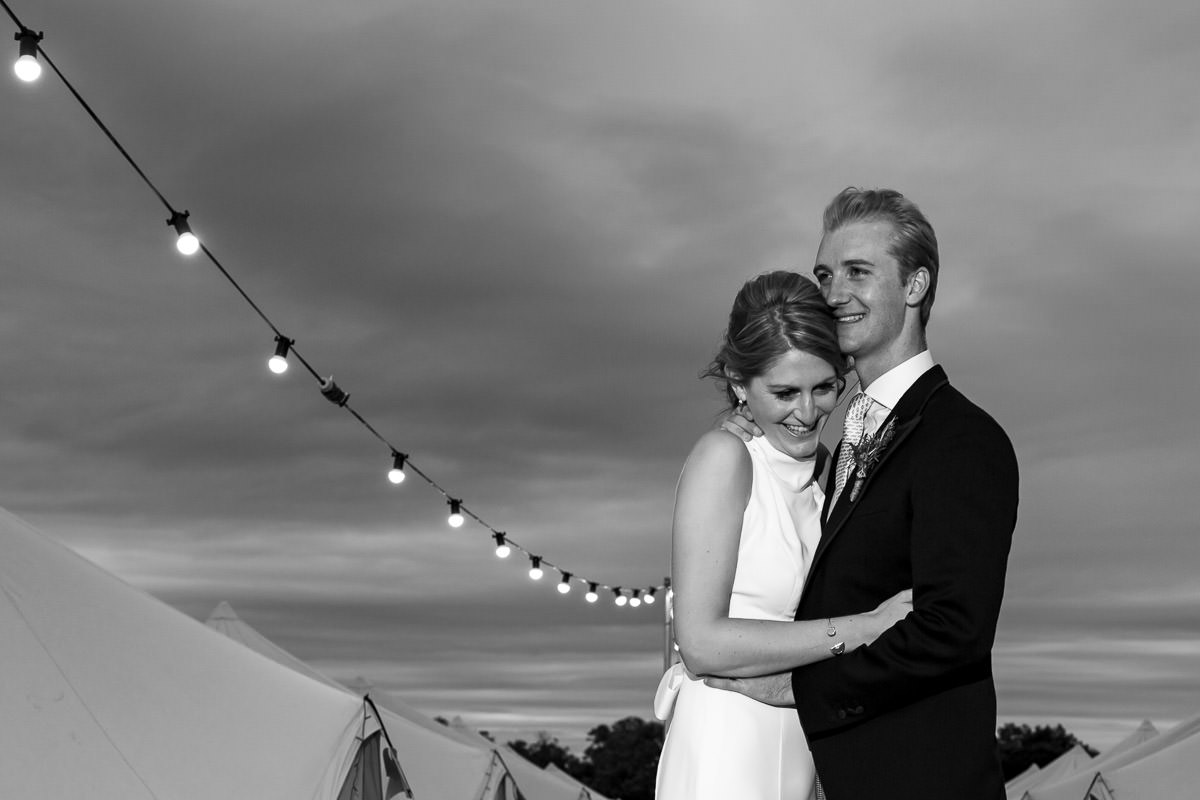 Surrey marquee garden wedding 12