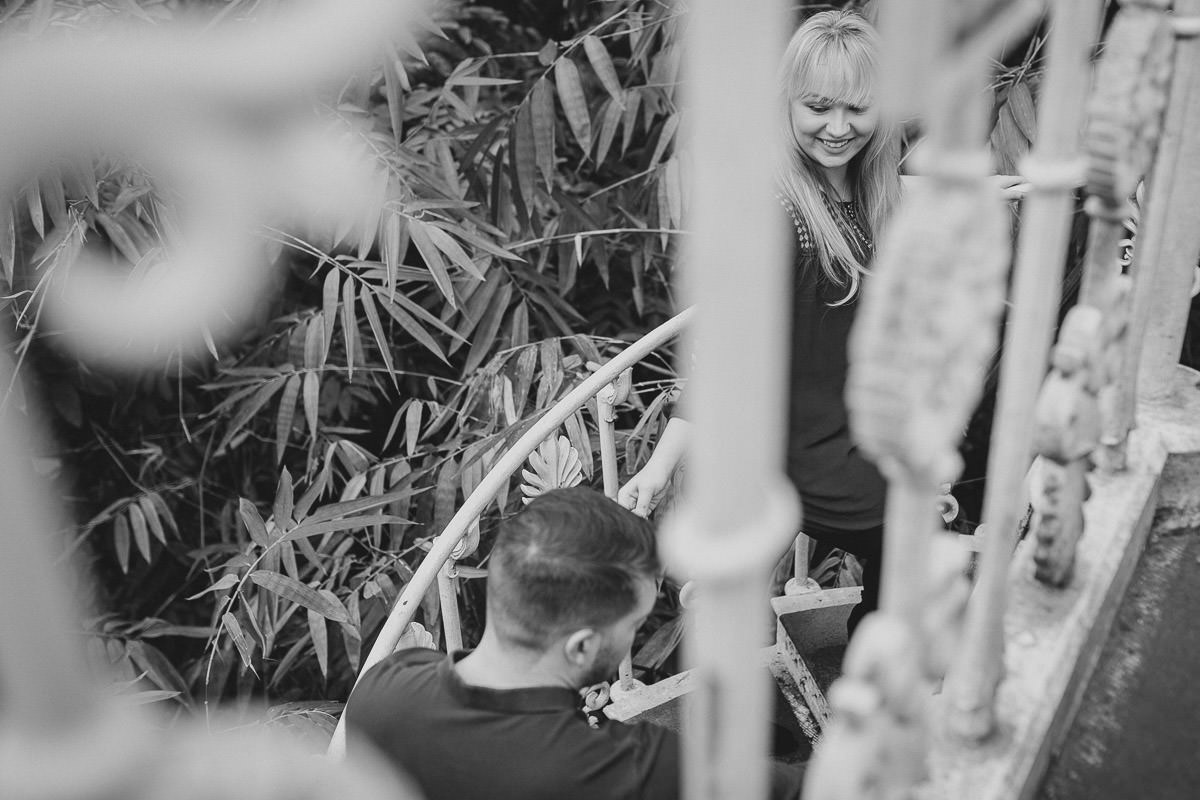 Kew Gardens engagement photographer London