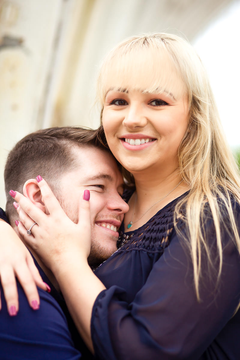 Kew Gardens engagement photographer London