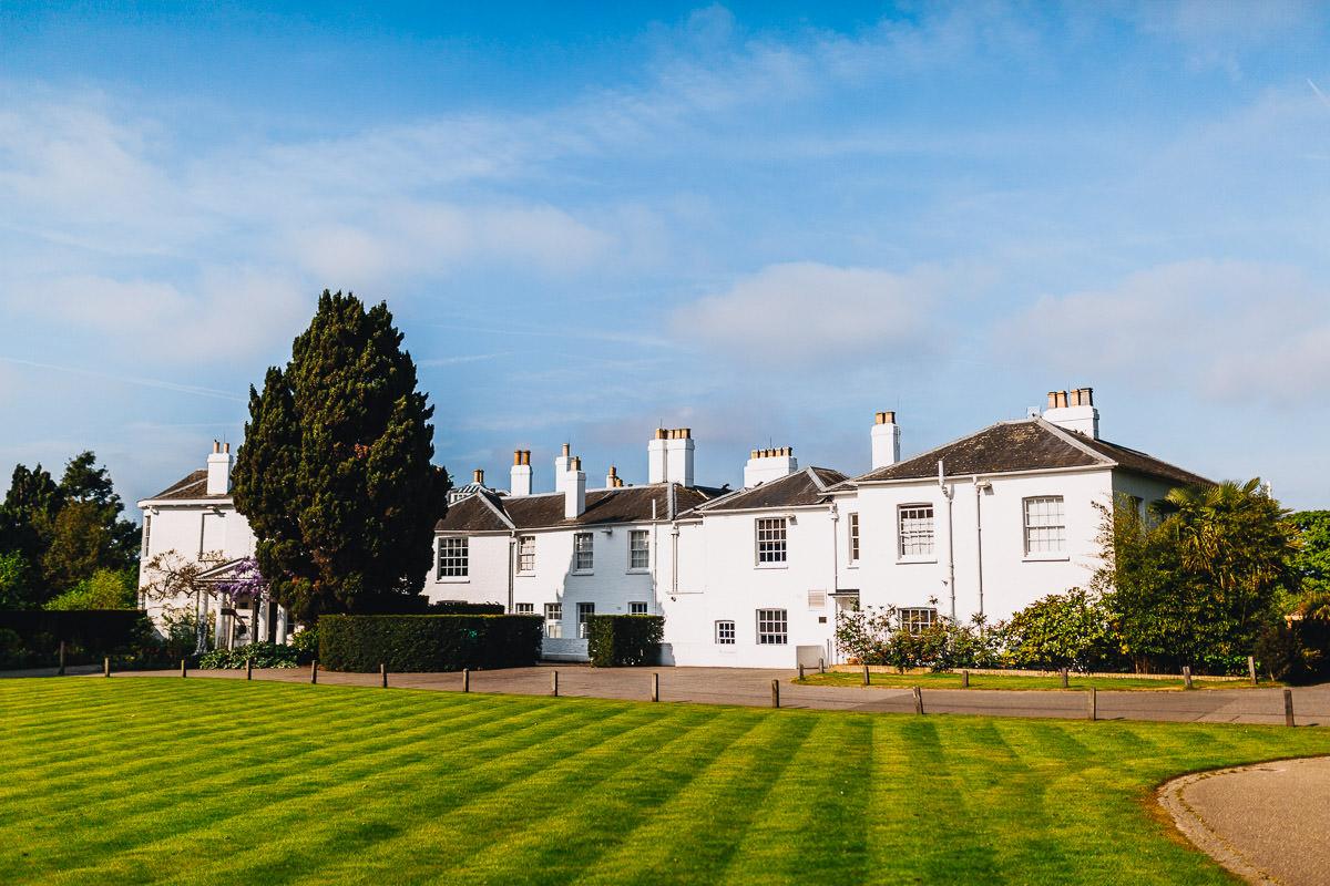 Pembroke Lodge London wedding venue