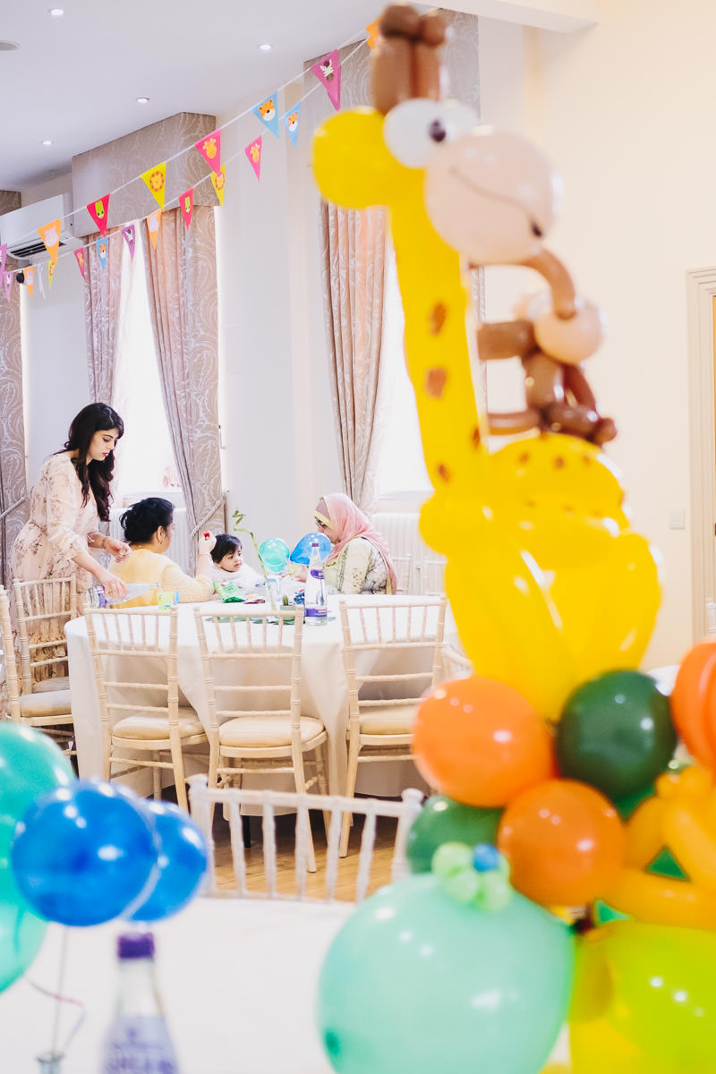 Planning a Birthday party for your one year old
