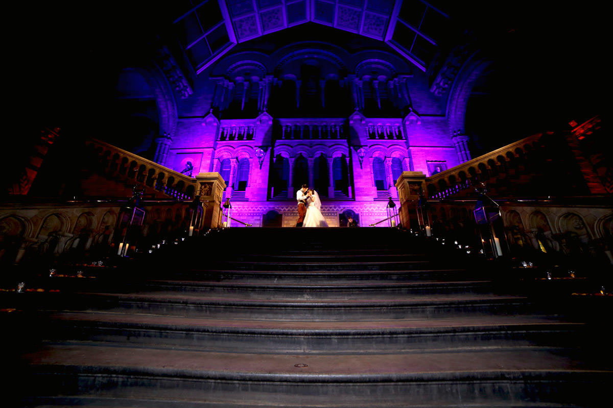 Natural History Museum Wedding