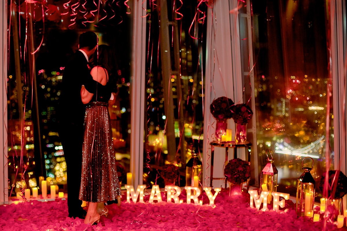 most romantic places to propose in London
