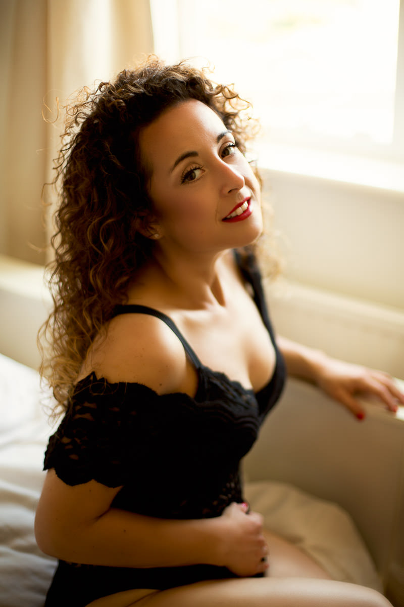 london boudoir session