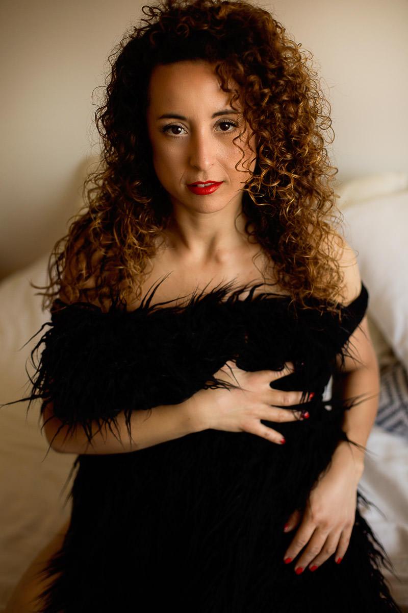 london boudoir session