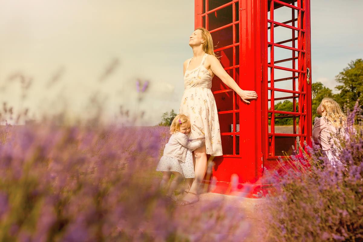 Mayfield Lavender Field in Surrey
