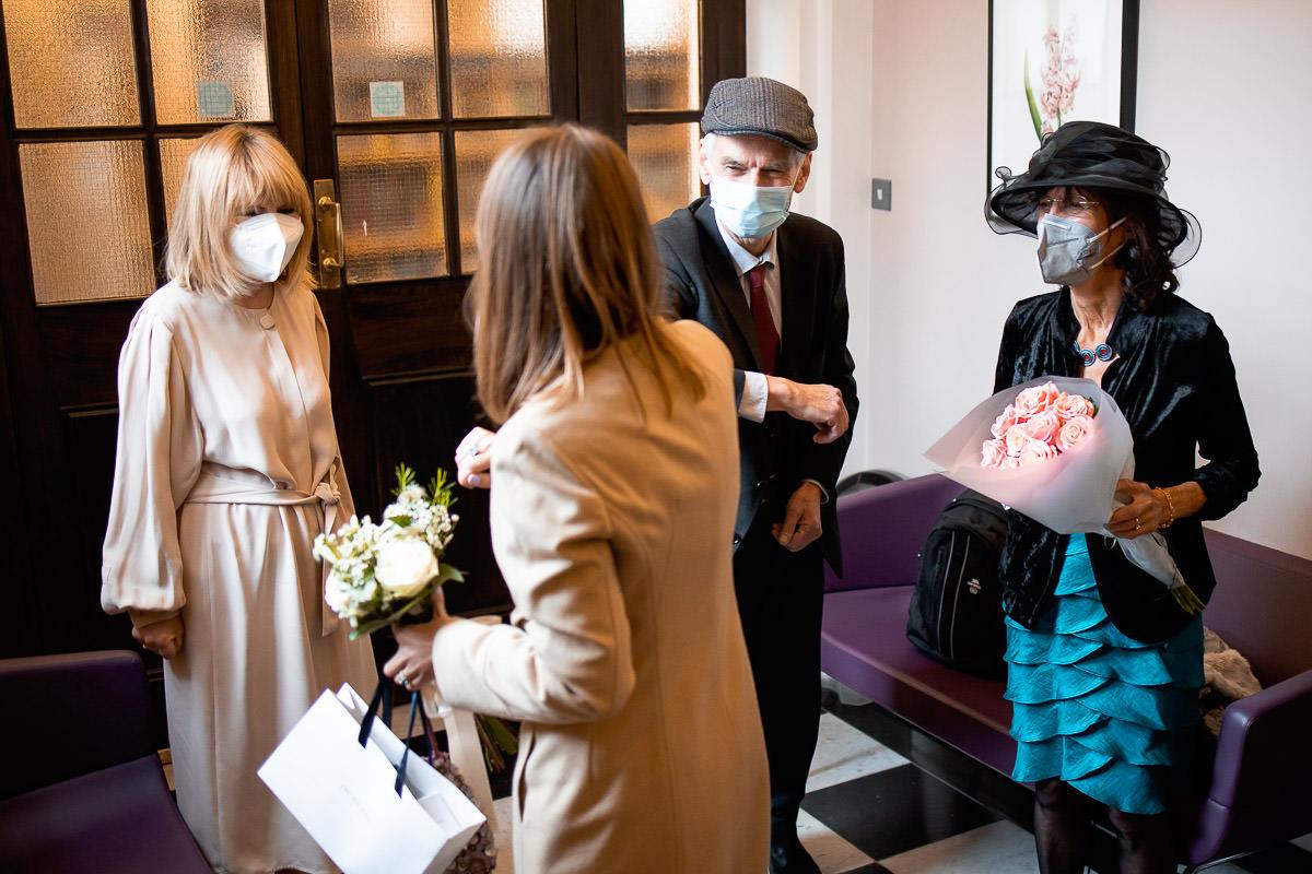 Social Distancing Wedding Kensington and Chelsea Register Office