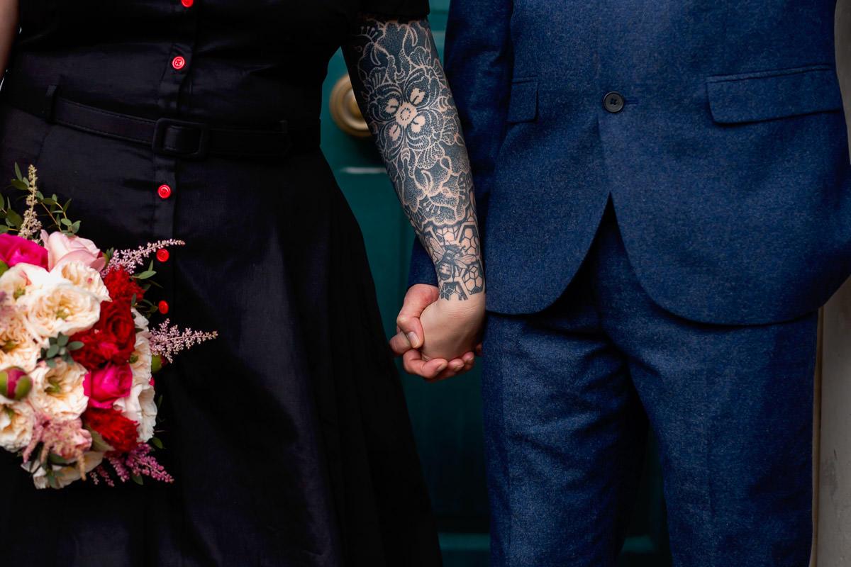 morden hall wedding